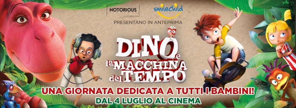 L'ETÀ DEI DINOSAURI - Una mattinata a prova di dinosauro con l'anteprima romana di DINO E LA MACCHINA DEL TEMPO!
